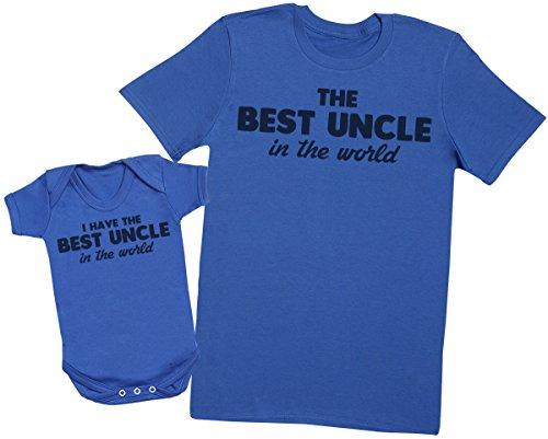 I Have The Best Uncle In The World – Maak een set – Gecoördineerde cadeauset voor vader en baby – oom-T-shirt en…