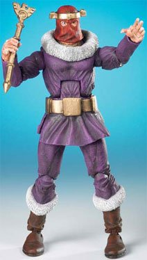 Marvel Legends Series 14 Action Figure Unmasked Baron Zemo VARIANT