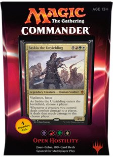 Magic the Gathering 2016 Commander OPEN HOSTILITY Deck