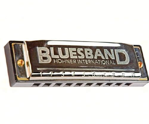 Woodstock Band - Woodstock Chimes WOOD12001 Blues Band Harmonica (Set of 1)