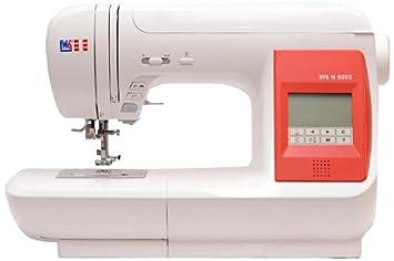 W6 N 5000 - Máquina de coser (informatizada, con 323 programas): Amazon.es: Hogar