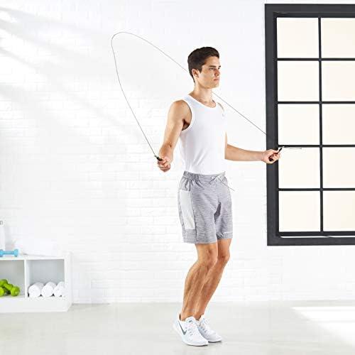 Amazon Basics Aluminum Handle Speed Jump Rope   Revista 21-15-9