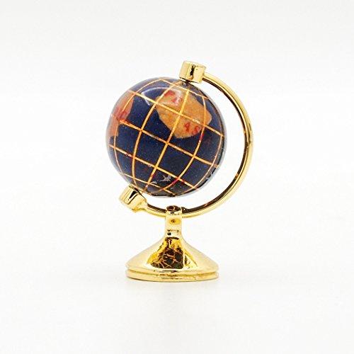 Odoria 1:12 Miniature Rolling Globe Golden Stand Dollhouse Furniture Accessory