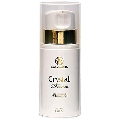2008 Australian Gold Crystal Faces Facial Tanning Lotion 4 oz.