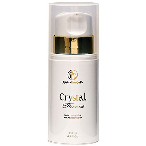 2008 Australian Gold Crystal Faces Facial Tanning Lotion 4 oz.
