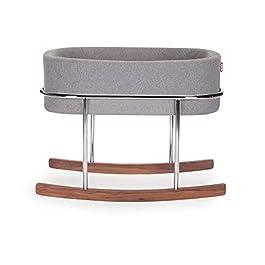 Monte Design Modern Rockwell Bassinet (Heather Grey)