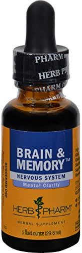 Herb Pharm - Brain & Memory Tonic Compound 1 oz [Health and Beauty]