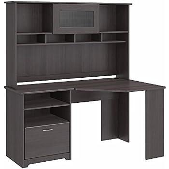 Amazon Com Cabot Corner Desk With Hutch Kitchen Amp Dining