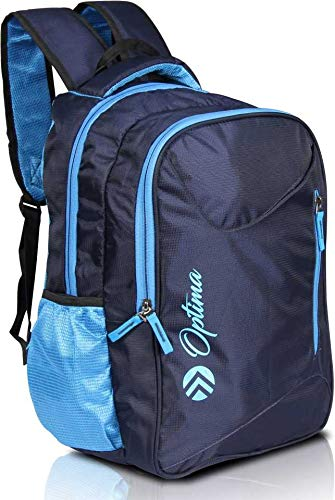 OPTIMA Travel Laptop Backpack, Business Slim Durable Laptops Backpack,Water Resistant College School Computer Bag for Women & Men Fits 15.6 Inch Laptop and Notebook – Blue