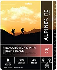 Beef/Pork (Serves 2) Camping Freeze-Dried Food, multi