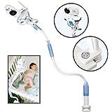 FlexxiCam Universal Baby Camera Mount - Infant Video Monitor Shelf and Holder