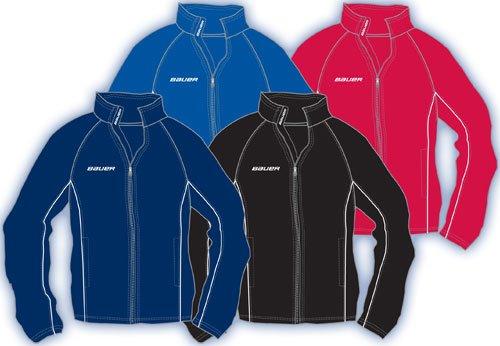 Jacket Nike Hockey - Bauer Nike Hockey Vapor Senior Warm Up Hockey Jacket - Red - Small