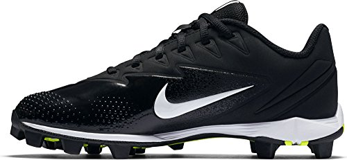 (NIKE Boy's Vapor Ultrafly Keystone (GS) Baseball Cleat Black/White/Anthracite Size 10 Kids US)