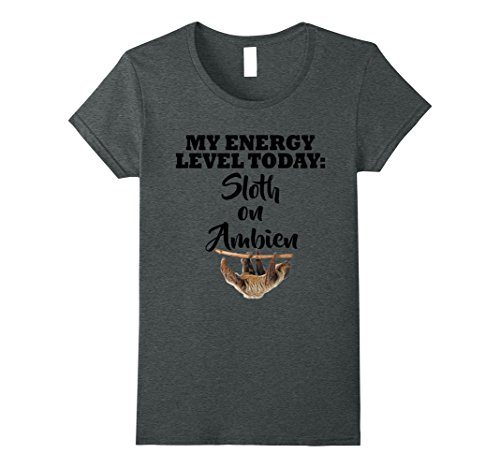 womens-my-energy-level-today-sloth-on-ambien-t-shirt-large-dark-heather