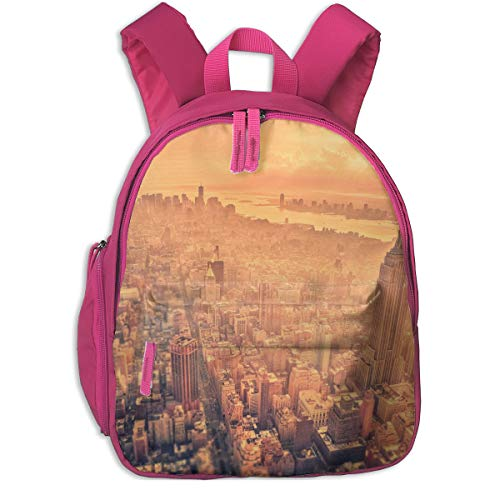 Durable New York Pocket Backpacks Backpack Schoolbag For Childrens Kids Children Boys Girls]()
