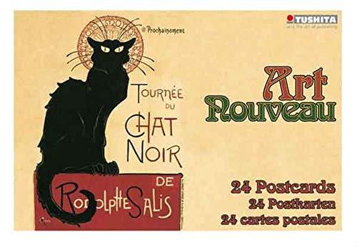 - Art Nouveau (Postcard Book)