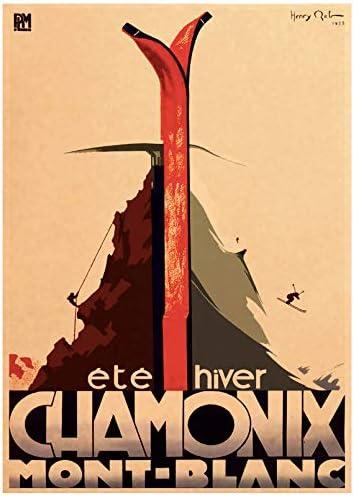 Wall Art Picture Poster Canada Ski In Alaska Impresión en ...