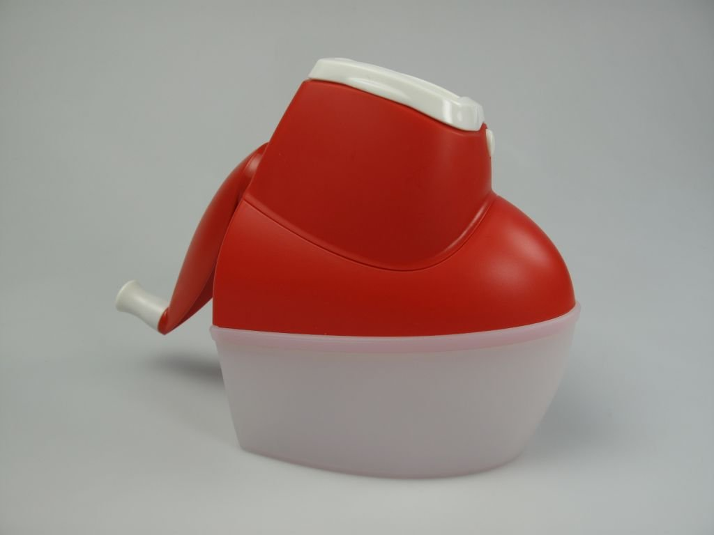 TUPPERWARE C25 Grattugissimo rosso bianco