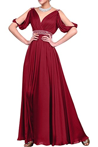 Missdressy - Robe - Trapèze - Femme -  Rouge - 36