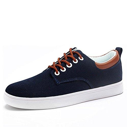 primavera tela sportive le traspiranti Scarpe uomo marea Blu da di scarpe per basse uomo aiutare scarpe scuro scarpe WFL da tRqwzwE