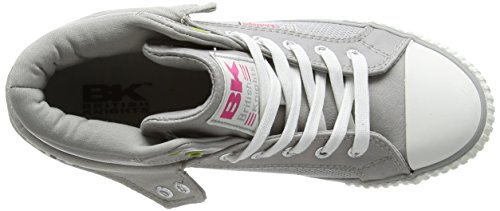British KnightsRoco - Zapatillas Mujer Multicolor - Multicolor (LT Grey-Green-Fuchsia 03)