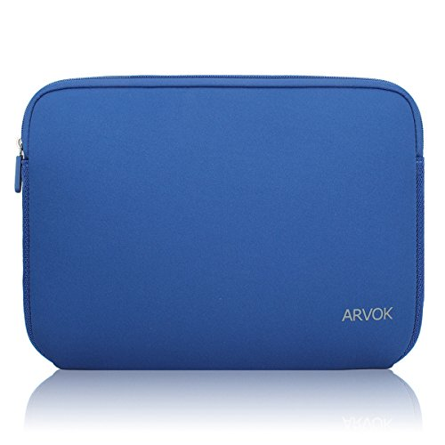 Arvok 13-14 Inch Laptop Sleeve Multi-color & Size Choices Case/Water-resistant Neoprene Notebook Computer Tablet Carrying Bag Cover, Dark (Laptop Sleeve Protector)