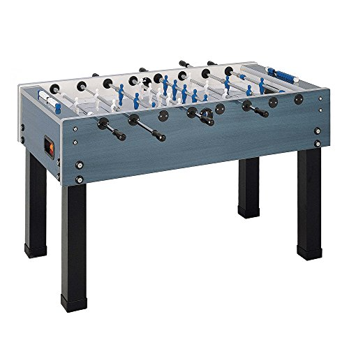 Garlando G-500 Indoor/Outdoor Weatherproof Foosball/Soccer Game Table Outdoor Foosball Table