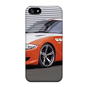 Gsgs Case Cover Protector Specially Made For Iphone 5/5s Orange Bmw Z4