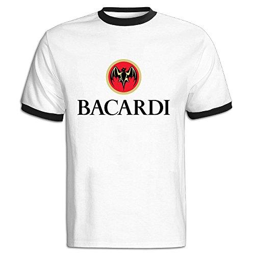 greenday-mens-bacardi-short-sleeve-tshirt-size-m-black