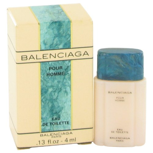 BALENCIAGA POUR HOMME by Balenciaga Mini EDT .13 oz for Men - 100% Authentic