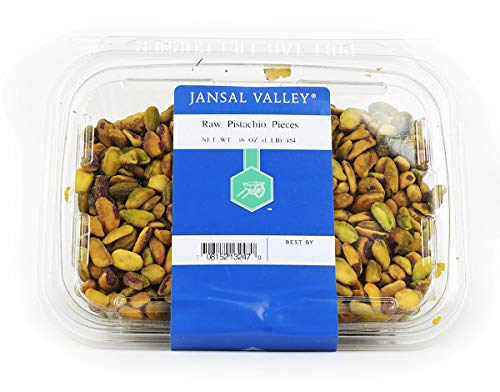 (Jansal Valley Raw Pistachio Pieces, 1 Pound)