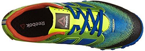 Chaussures Trail Running Terrain Reebok Homme Vert All Jaune Bleu Super q7UtnF1