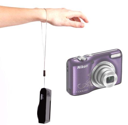 Handy Camera Metal Wrist Strap for Nikon COOLPIX P300, S9100, S3100 & L23, by -