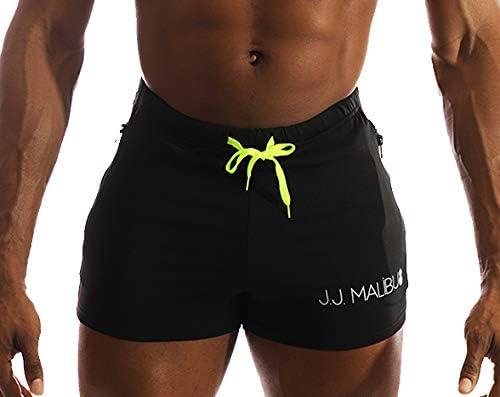 JJ Malibu Gym Short Shorts with Zipper Pockets
