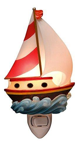 Themed Nautical Sailboat (Toy Sailboat Night Light)