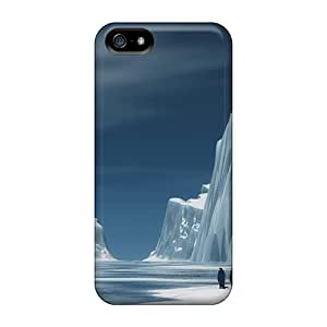 Durable Protector Case Cover With Impressive Iceberg Hot Design For Iphone 5/5s