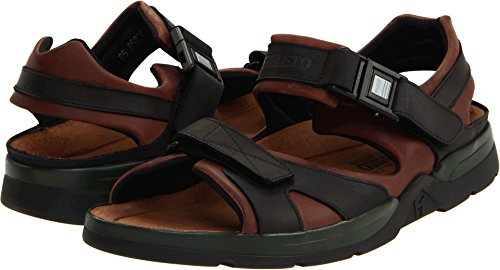 Brown Leather Waxy - Mephisto Men's Shark Dark Brown/Black Waxy Leather 45 D EU D (M)