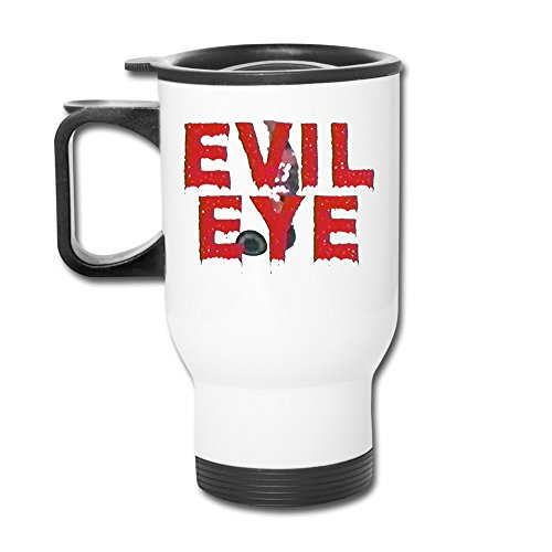 (Ceramic Travel White Cups Franz Ferdinand Scottish Rock Evil Eye Travel Mugs Tumbler Cup )