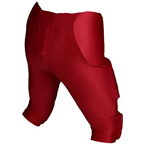 nbsp;couleurs nbsp;pads One Athletics Rot All Spandex 'active 5 In Pant Football Game Padded 7 Pantalon En qwBUX86