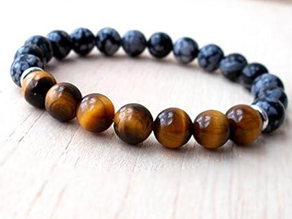 Amazon Com Jp Beads Mens Buddhist Protection Bracelet Mens