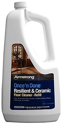 Once'N Done No Rinse Cleaner 1/2 Gal by Armstrong World Ind.