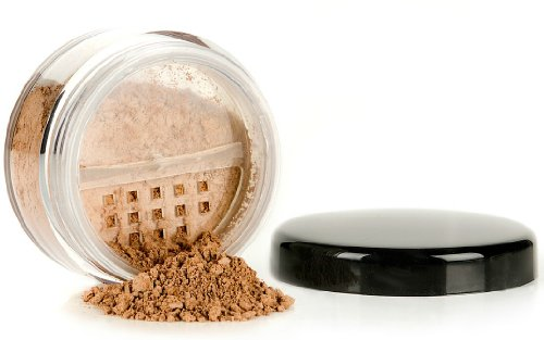 Southern Magnolia Original Full Coverage Matte Mineral Foundation - DARK | .28oz with Rotating Sifter