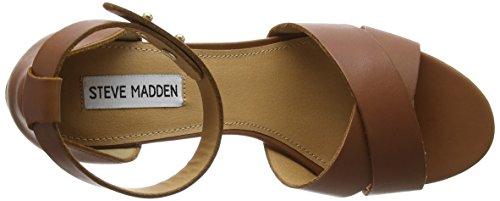 Steve Madden Nilla Sm - Tacones Mujer Beige - marrón