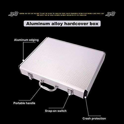 Boutique Mahjong-set - geselecteerde milieuvriendelijke en gezonde acrylproductie, geschenkdoos van aluminiumlegering, Majong-set Mah Jong Mah Jongg-sets Majiang