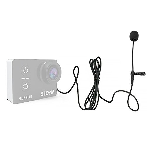 Original SJCAM Accessories External Microphone MIC for SJCAM SJ6 LEGEND/SJ7 Star/SJ360 Sports Mini Camera(Cable length: 142cm)
