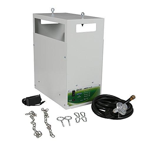 - Titan Controls 4-Burner Carbon Dioxide (CO2) Generator, Liquid Propane, 120V - Ares 4