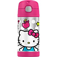 Termo Funtainer botella de 12 onzas, Hello Kitty, colores surtidos
