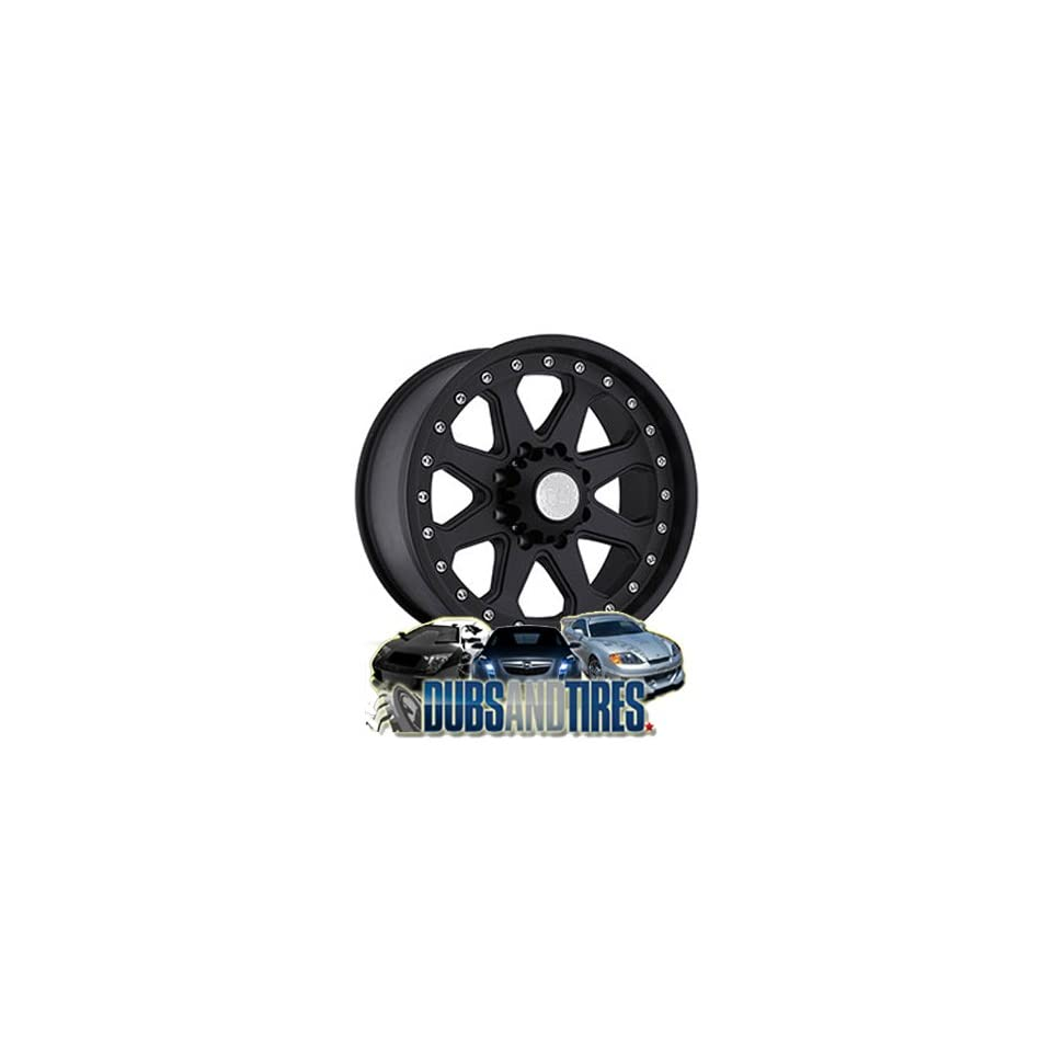 20 Inch 20x9 Black Rhino wheels Imperial Matte Black wheels rims