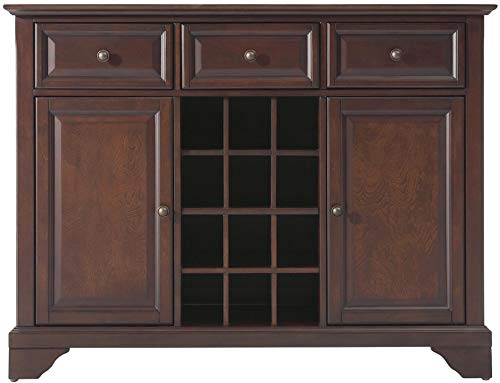Crosley Furniture LaFayette Wine Buffet / Sideboard - Vintage Mahogany ()