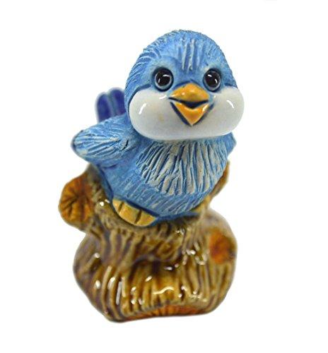 Rinconada 2017 Collection, small Blue BIRD tweeting, 2.2¨H, #AR802A